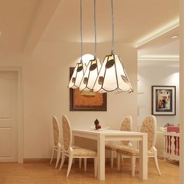 餐厅吊灯现代简约酒吧台咖啡厅灯个性创意地中海铁艺工业风餐吊灯