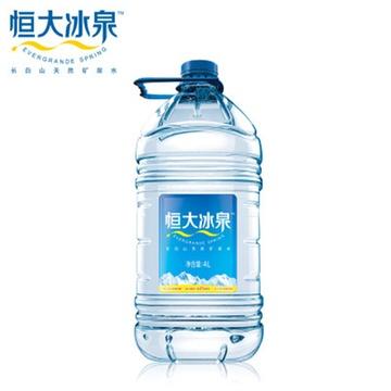 长白山天然矿泉水 4l/桶