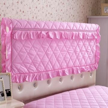 囍人坊 纯棉加厚欧式床头罩夹棉床头套公主软包布艺1.8m全棉防尘罩1.