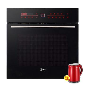 美的(midea)et1065my-01se 嵌入式电烤箱(9大加热模式 热风对流 搪瓷