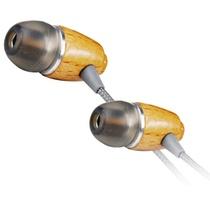 威运高(Vivanco)27107 耳塞 入耳式耳机 木质耳机(内置式 山毛榉 纯手工 线长1.2米)