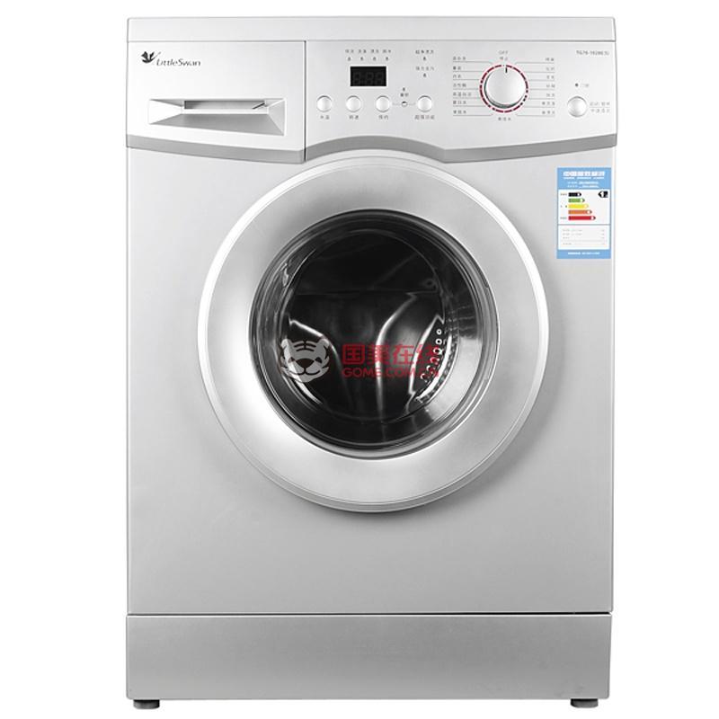 国美价: ¥3098.00 主体:;品牌:小天鹅(LittleSwan);商品属性:滚筒洗衣机;商品型号:TG70-1211DXS;颜色:银色 ;自动化程度:全自动;显示方式:LED数码显示;控制方式:电脑控制;开门方式:前开式;排水方式:下排水;电机类型:变频电机;定频/变频:变频;特色功能:;脱水功能:支持;防缠绕:支持;儿童安全锁:支持;预约功能:支持;干衣功能:不支持;夜间洗:支持;电辅加热烘干:不支持;电辅加热洗涤:不支持;中途添衣:不支持;自动断电:支持;智能断电记忆:不支持;进水阀