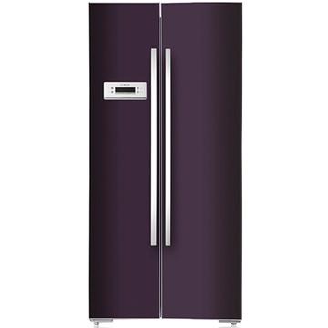 博世(BOSCH) BCD-604W(KAN62S80TI) 604升L变频 对开门冰箱(黑加仑紫) 风冷无霜1级能效