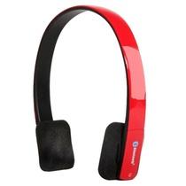 冲击波(shockwave)SHB-921BH 无线蓝牙耳机 头戴式HiFi立体声耳机(红色)