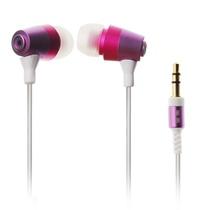 意高(ECHOTECH)CO-148 耳机 入耳式耳机 立体声耳塞(枚红色)(入耳式设计,遵循人体工学原理,两对备用橡胶耳套,方便用户及时的清洁更新)