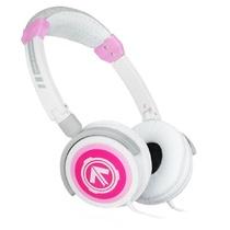 美国潮牌(Aerial 7) Phoenix系列潮流耳机头戴式耳机(粉色) (PHOENIX采用钢筋框架,可调式头带,毛绒耳垫,旋转耳环,以及一个出色的高品质的扬声器)