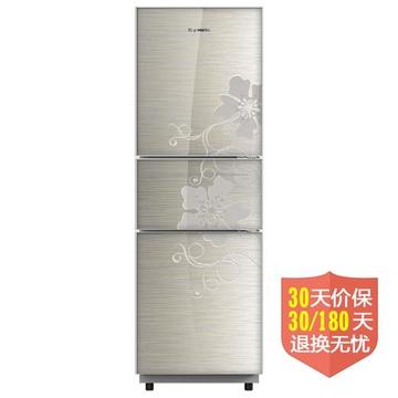 创维(skyworth) BCD-215TGA 215升L 三门冰箱(银色) 1级能效节能