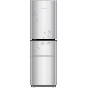 康佳(KONKA) BCD-192MT-GY 192升  三门冰箱