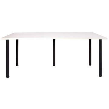 1(180*60)暖白色桌面黑腿