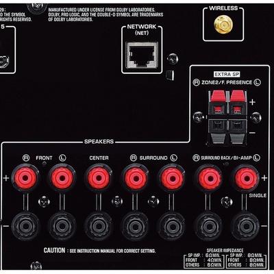 雅马哈(yamaha)rx-v677 收音扩音机 7.2声道av功放(黑色)