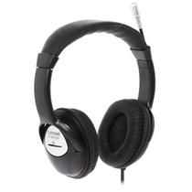 爱谱王(∧pking)IP-M120V双插头戴电脑耳机(黑色)