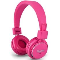 萨发(SAFF)Q8头戴式蓝牙耳机(粉色)插卡播放MP3 FM调频