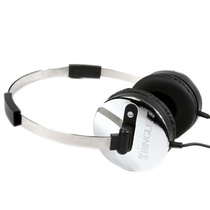 宾果(Bingle)i350耳机头戴式耳机(银色)(不锈钢头带,双向拉伸设计,3.5mm标准镀金插针,音质传输更有保障)