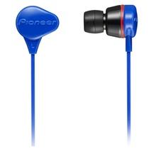 先锋(Pioneer)SE-CL331-G 耳机 入耳式耳机 立体声耳机 蓝色(具有很强的防水性能,佩戴时既舒适也牢靠,音质也颇有特点)