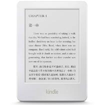 亚马逊(Kindle)电子书阅读器 白色 (无内置阅读灯) 6英寸护眼非反光电子墨水触控显示屏 内置wifi 4G