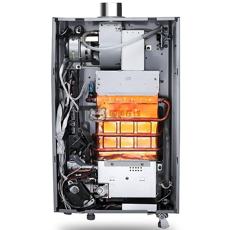 万和(vanward)jsq24-12et09 12升 燃气热水器(天然气)图片