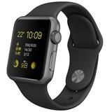 Apple Watch Sport 38毫米配黑色表带
