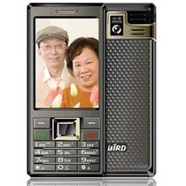 波导(BIRD)K559 GSM老人手机(太空灰色)双卡双待