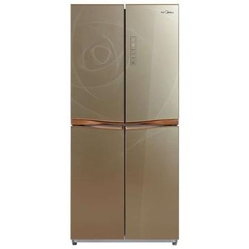 美的(Midea)  BCD-405TGEM  405升  对开门冰箱(金色)  涡流科技,中央智控