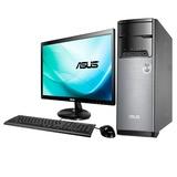 华硕(ASUS)M32AL-G1052A3 21.5英寸台式电脑(赛扬 双核 1017U处理器 2G内存 500G 硬盘WIN8 银黑色 )