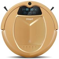 福玛特(FMART)金星E-550G智能机器人 吸尘器 扫地机(金)智能语音提示,双重灰尘过滤,灰尘识别系统与变频电机结合