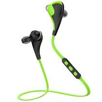纽曼蓝牙耳机 L03 草绿色 运动无线蓝牙耳机 头戴式迷你双入耳 通用型立体声