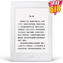 Kindle Paperwhite电子书阅读器 白色 6英寸护眼非反光电子墨水触控显示屏 wifi 电子书阅读器