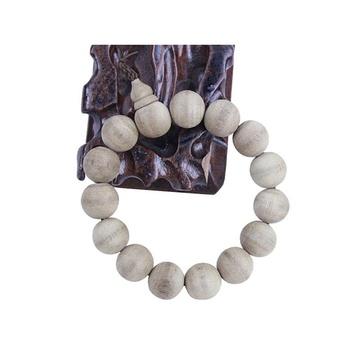 贝瑞雅bry010201320印尼倒架沉天然木饰品15颗珠手链